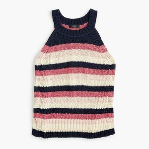 J. Crew | Sweater Tank in Stripe